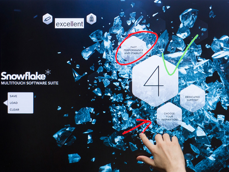 Charmex comercializa el software Snowflake para los monitores interactivos Clevertouch con Android