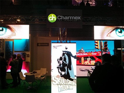 Charmex muestra en Afial 2016 su apuesta por las soluciones Led para alquiler e instalación