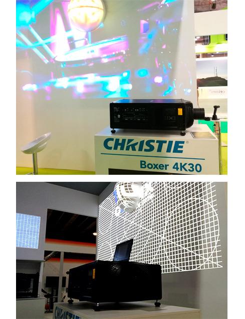Los proyectores de la Serie HS y las pantallas Velvet Merit de Christie debutan en España en BIT 2016