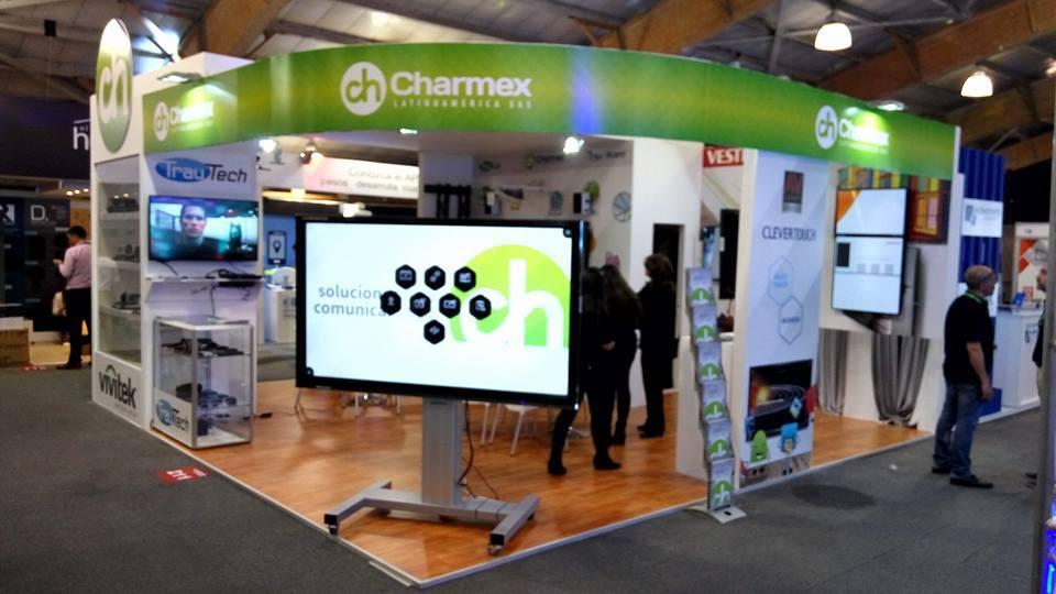 Charmex exhibe una amplia gama de soluciones de visualización en InfoComm Colombia 2016