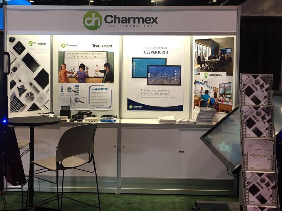 Charmex debuta en las ferias InfoComm y Expo Virtual Educa Colombia