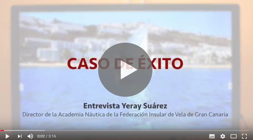 Clases interactivas en la academia náutica deportiva de Gran Canaria