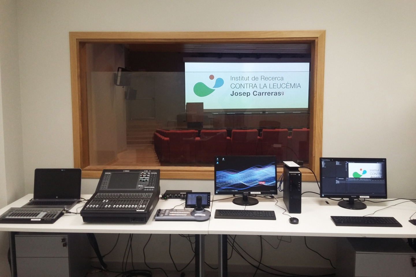 Charmex suministra lo último en tecnología audiovisual al Instituto de Investigación contra la Leucemia Josep Carreras