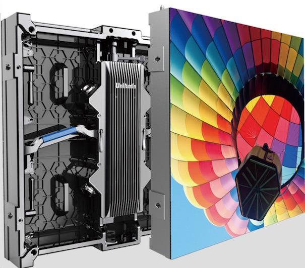Charmex presenta la serie Upad III de Unilumin para el mercado AV de alquiler en interior