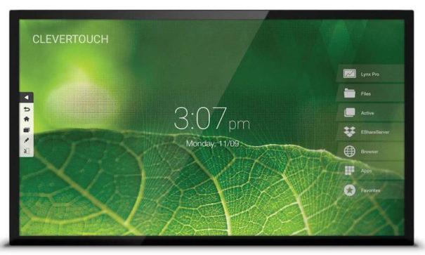 Colaboración y presentaciones de impacto con el monitor Clevertouch Pro Capacitativo 4K