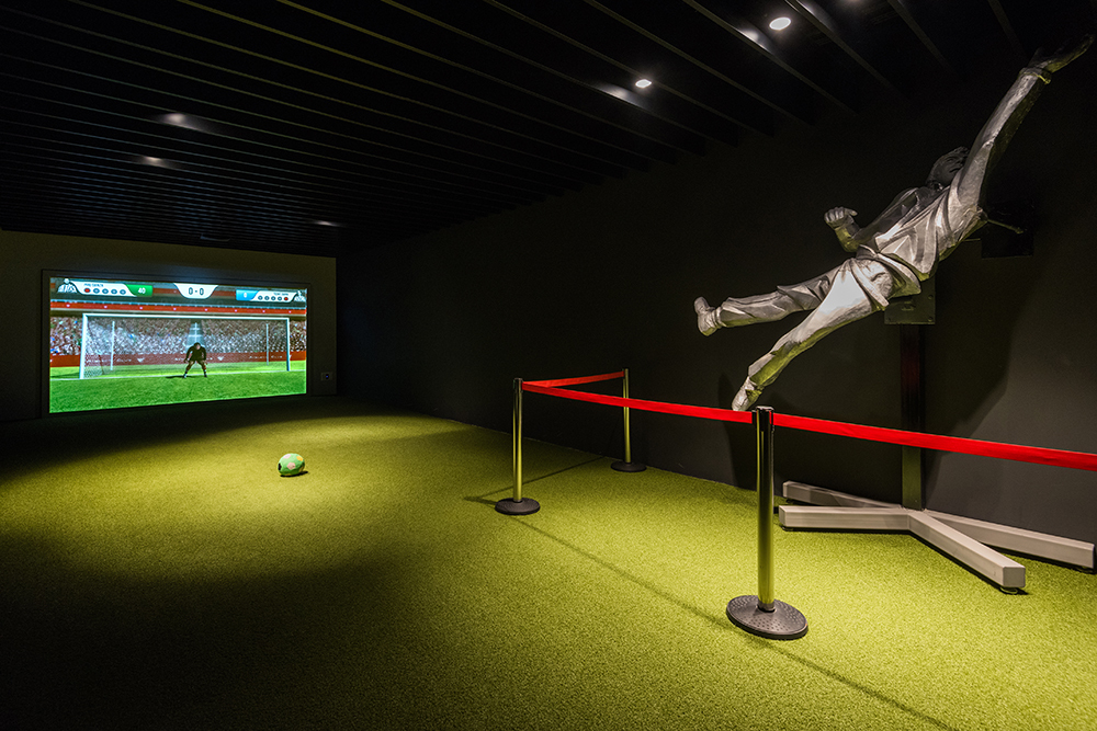 La proyección láser de Christie cautiva al público del nuevo museo del Athletic Club